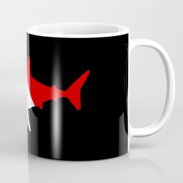 Diving Flag: Shark Coffee Mug