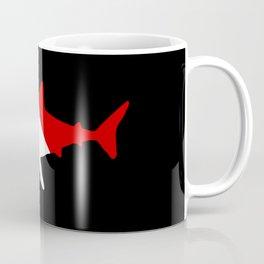 Diving Flag: Shark Coffee Mug