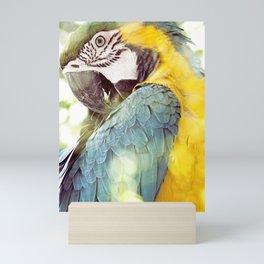 Magical Parrot - Guacamaya Variopinta - Magical Realism Mini Art Print