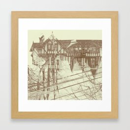 from the roots Framed Art Print