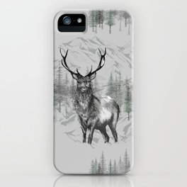 Highland Deer iPhone Case