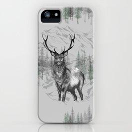 Highland Deer iPhone Case