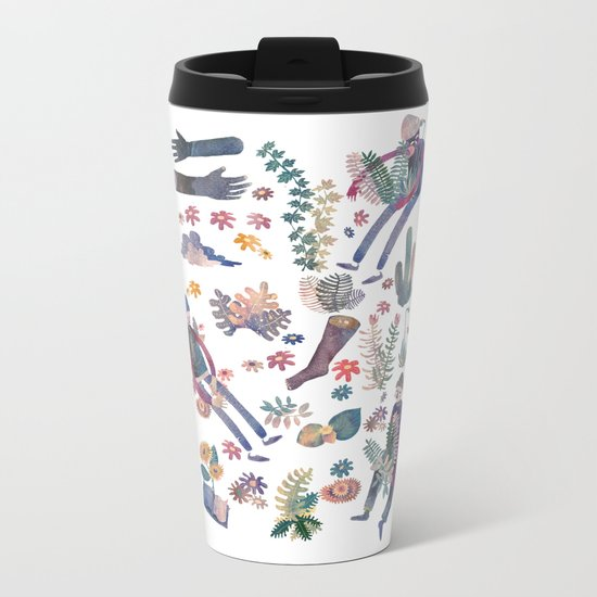me and nature Metal Travel Mug