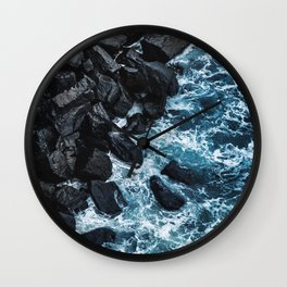 Washed up at Kilt Rock Wall Clock