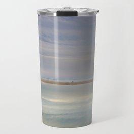"""""""Peace at the seasunset"""". Magic reflections Travel Mug"""