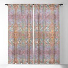 Mermaid Glass Sheer Curtain