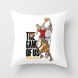 Basketball The Game Of Us Basket Ball Sport Team Gift Throw Pillow