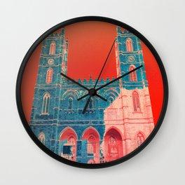 Notre Pop de Montreal Wall Clock