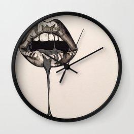 Drip. Wall Clock