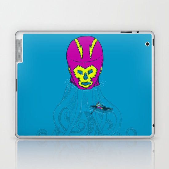 Trolling for a fight Laptop & iPad Skin