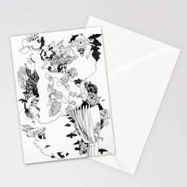 Caught In-Between Stationery Cards