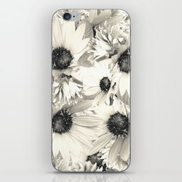 Ivory Moonlight Floral iPhone Skin