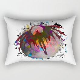 Night of the Demon Rectangular Pillow