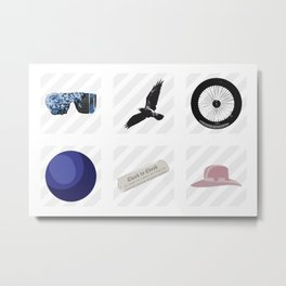 discGAGAraphy Metal Print