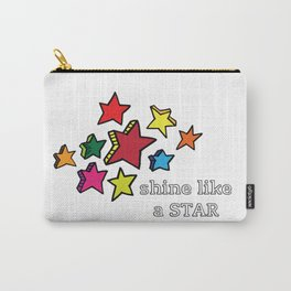 Shine Like A Star Carry-All Pouch