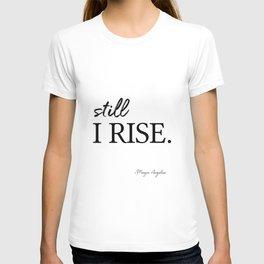 I'll rise #minimalism 3 T-shirt