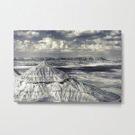 Bardenas Reales desert - le plateau Metal Print