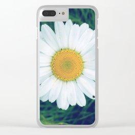 FlowerPower #10 Clear iPhone Case