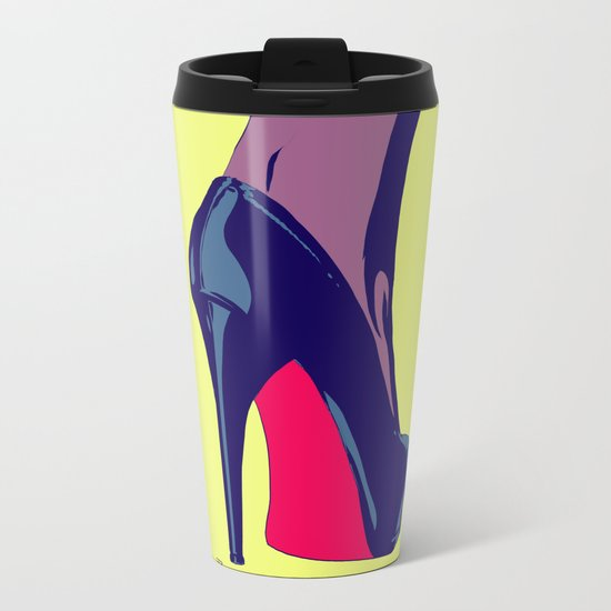 Shoe Metal Travel Mug