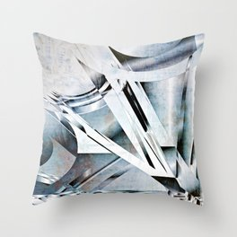 Windows and Masts Throw Pillow