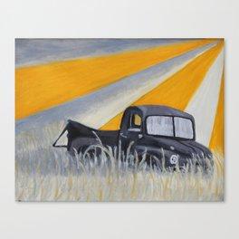 Forgotten America Truck Canvas Print
