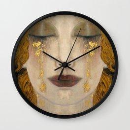 Freya's tears Wall Clock