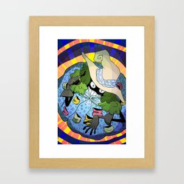 Positive Witch  Framed Art Print