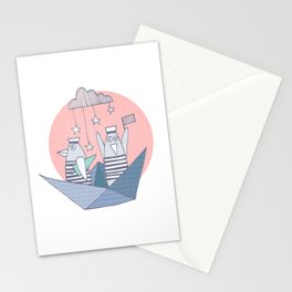 Origami Pingvins Stationery Cards