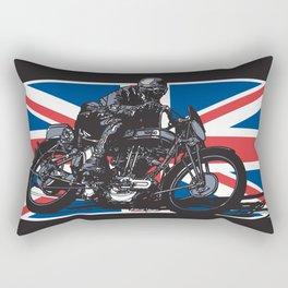 NORTON TT RACER | DARK Rectangular Pillow