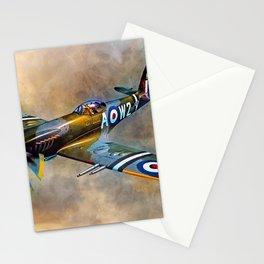 Spitfire Dawn Flight Stationery Cards
