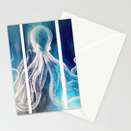 Octopus Tryptic Stationery Cards