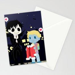 The nightmare before Sherlock Stationery Cards