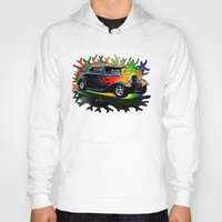 ford Hoodies featuring 32 Ford by JT Digital Art