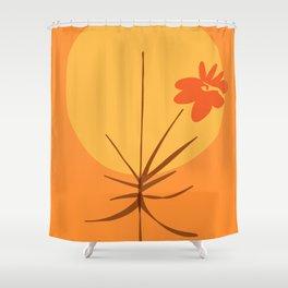 zen garden summer sun Shower Curtain