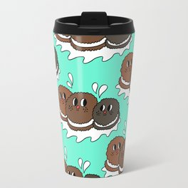 Oreo and Milk Travel Mug