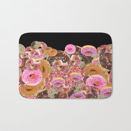 IRON&EMOTION I DONUT GIVE A DAMN ABOUT HAVING ABS Bath Mat