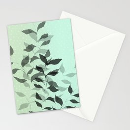 First Snowfall #snow #botanical Stationery Cards