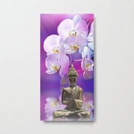 Buddha 12 Metal Print