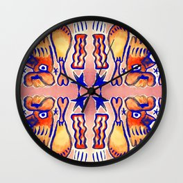 American Meat Lovers Wall Clock