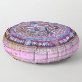 Kalachakra Sera - Mandala Floor Pillow