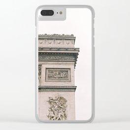 Arc de Triomphe Paris City Clear iPhone Case