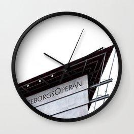 The Gothenburg Opera House Wall Clock
