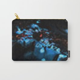 Abstract Black Blue Outer Space Galaxy Cosmos Jodilynpaintings Painting Carry-All Pouch
