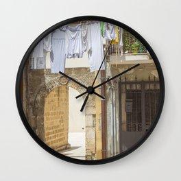 Laundry in Syracuse Wall Clock