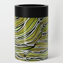 Green Leafy Zen Leaf Can Cooler