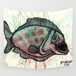 Piranha! Wall Tapestry