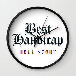 Best Handicap - Hell Sport Wall Clock