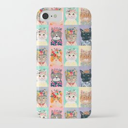 Cat land iPhone Case