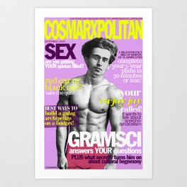 COSMARXPOLITAN, Issue 5 Art Print