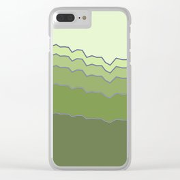 Pinkergraph 02 Clear iPhone Case